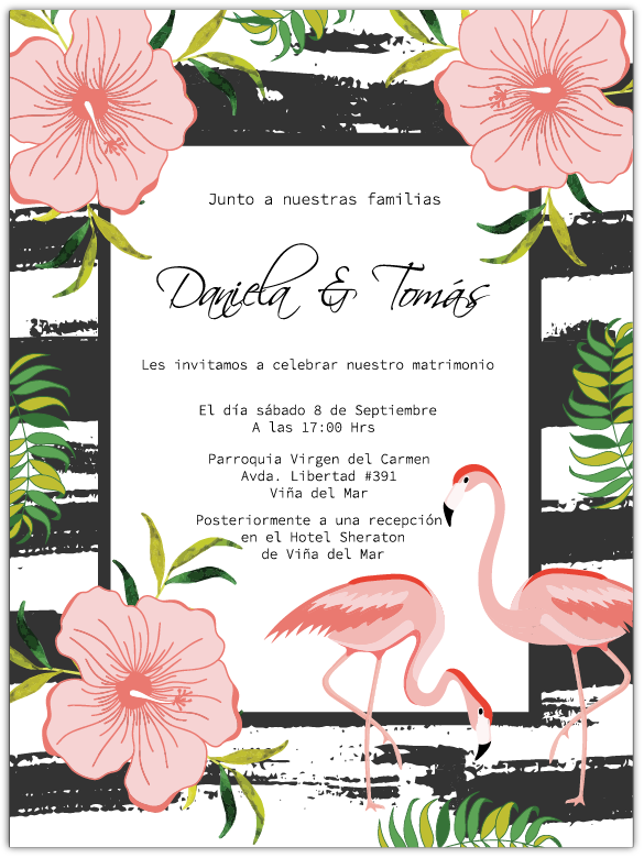 Parte de Matrimonio Tropical